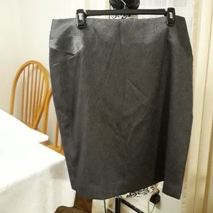 Anne Klein grey skirt